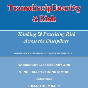 CLLR - Transdisciplinarity and Risk Unit 16 Master Class