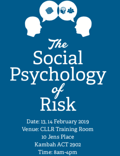 CLLR-Introduction to Social Psychology of Risk